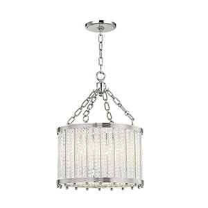 Shelby Polished Nickel 4-Light 16-Inch Pendant