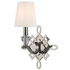 Fowler Polished Nickel One-Light Wall Sconce
