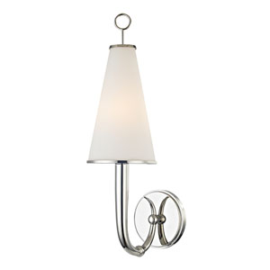 Colden Polished Nickel One-Light Wall Sconce