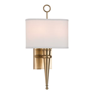 Harmony Aged Brass Two-Light Wall Sconce