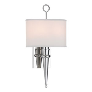 Harmony Polished Nickel Two-Light Wall Sconce