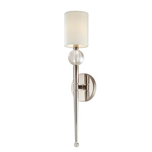 Rockland Polished Nickel One-Light Wall Sconce
