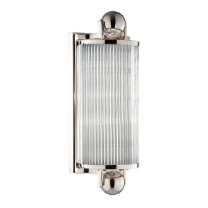Mclean Polished Nickel One-Light Bath Fixture
