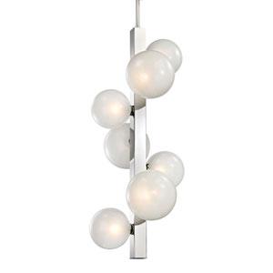 Hinsdale Polished Nickel Seven-Light Pendant