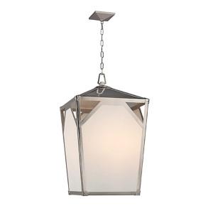 Carlisle Polished Nickel Eight-Light Pendant