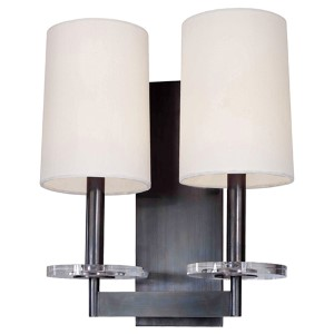 Chelsea Polished Nickel Two-Light Sconce