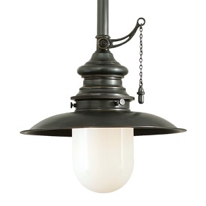 Kendall Old Bronze 10-Inch One-Light Pendant