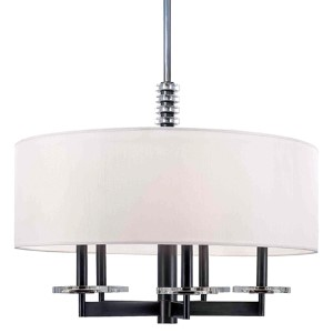 Chelsea Polished Nickel Five-Light Pendant