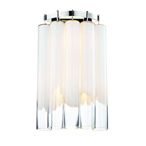 Tyrell Polished Nickel Two-Light Wall Sconce
