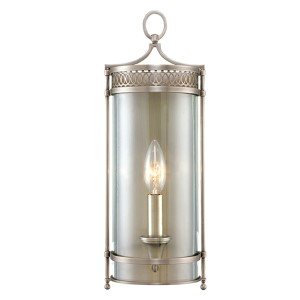 Amelia Antique Nickel One-Light Wall Sconce