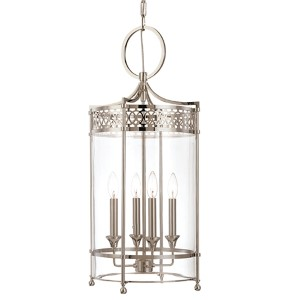 Amelia Polished Nickel Four-Light Pendant