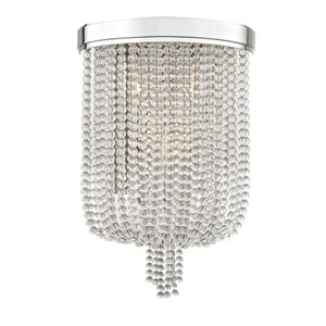 Royalton Polished Nickel Three-Light Wall Sconce