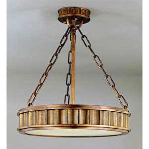 Middlebury Aged Brass Small Pendant