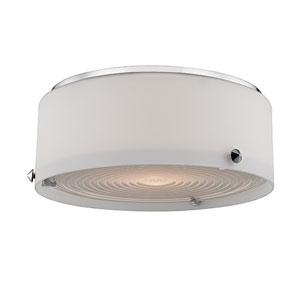 Blackwell Polished Nickel Ten-Inch LED Flushmount
