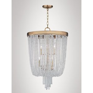 Royalton Aged Brass Eight-Light Chandelier