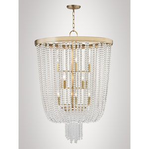 Royalton Aged Brass 12-Light Chandelier