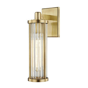 Marley Aged Brass 1-Light 4.5-Inch Wall Sconce