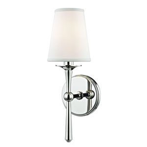 Islip Polished Nickel One-Light Wall Sconce