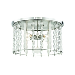 Whitestone Polished Nickel Four-Light Flush Mount