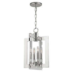 Wellington Polished Nickel Four-Light Pendant
