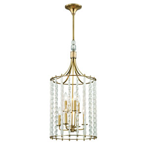 Whitestone Aged Brass Eight-Light Pendant
