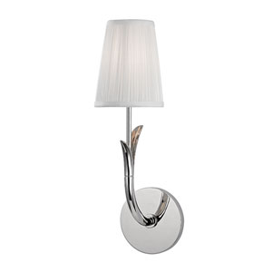 Deering Polished Nickel One-Light Wall Sconce