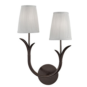 Deering Old Bronze Two-Light Right Wall Sconce