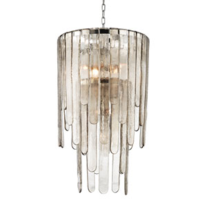 Fenwater Polished Nickel Nine-Light Pendant