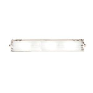 Bristol Polished Nickel Four-Light Bath Light