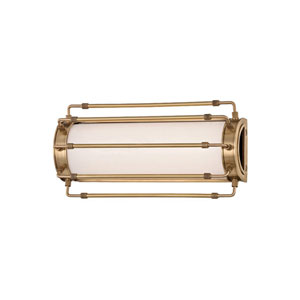 Hyde Park Aged Brass LED 15-Inch One-Light Wall Sconce