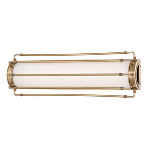 Hyde Park Aged Brass LED 24-Inch One-Light Wall Sconce