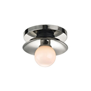 Julien Polished Nickel LED 5-Inch One-Light Bath Sconce