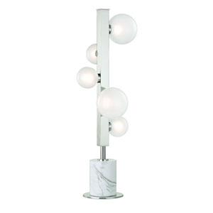 Mini Hinsdale Polished Nickel LED Table Lamp