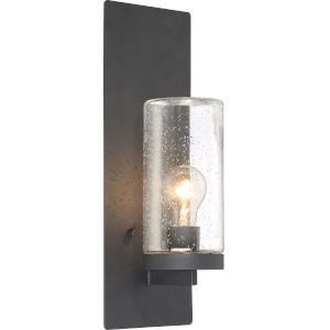 Indie Black One-Light Wall Sconce