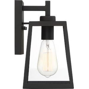 Halifax Black One-Light Outdoor Wall Lantern