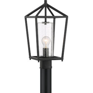 Hopewell Black One-Light Outdoor Post Lantern
