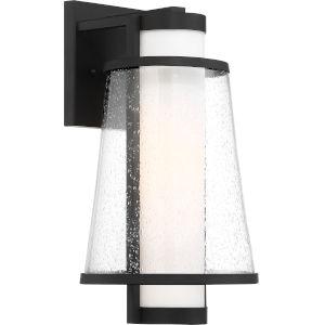 Anau Black 8-Inch One-Light Outdoor Wall Lantern