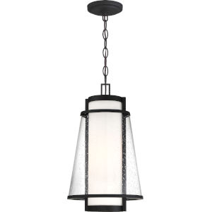 Tofino Black One-Light Outdoor Hanging Pendant