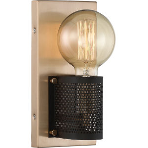 Passage Gold One-Light Wall Sconce