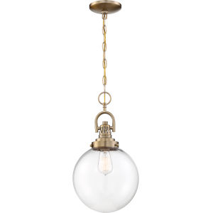 Skyloft Brass One-Light Mini-Pendant