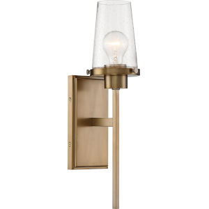 Rector Brass One-Light Wall Sconce