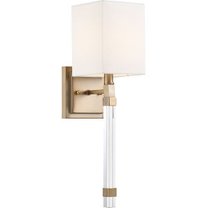 Tompson Brass One-Light Wall Sconce