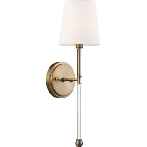 Olmsted Brass One-Light Wall Sconce