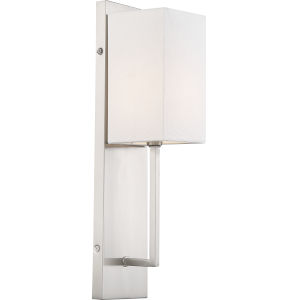 Vesey Nickel 4-Inch One-Light Wall Sconce