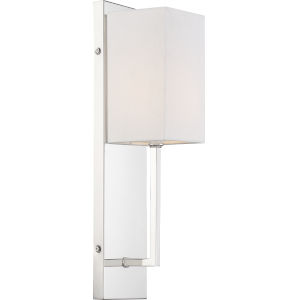 Vesey Nickel One-Light Wall Sconce
