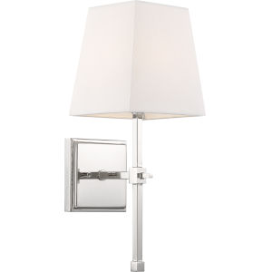 Highline Nickel One-Light Vanity