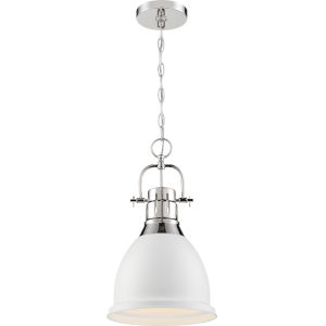 Watson Nickel One-Light Pendant