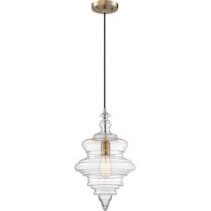 Ballarat Brass One-Light Pendant