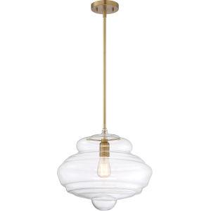 Storrier Brass One-Light Pendant