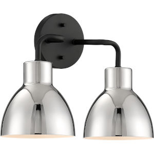 Sloan Black Two-Light Vanity